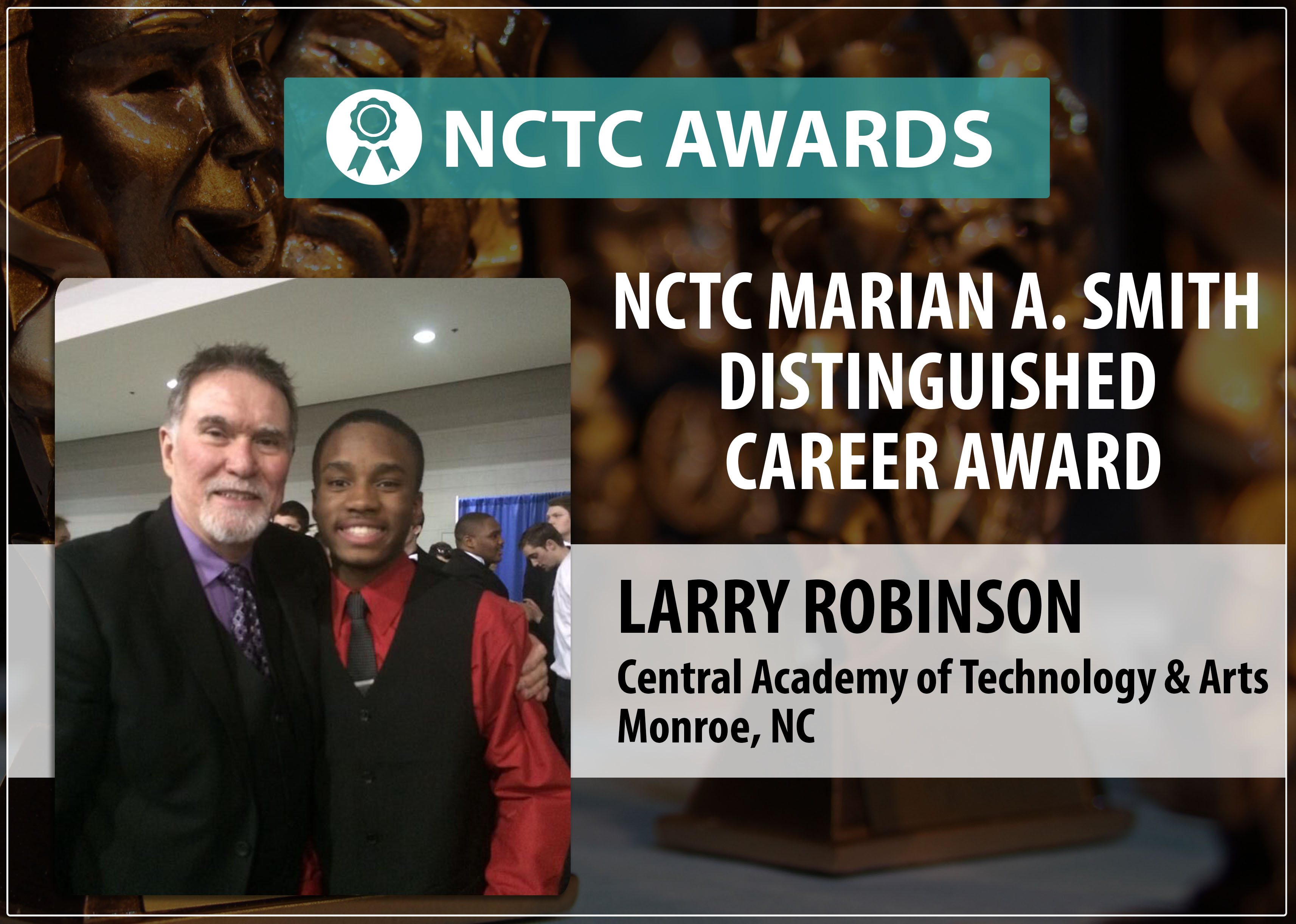 NCTC Marian A. Smith Distinguished Career Award Recipient Larry Robinson