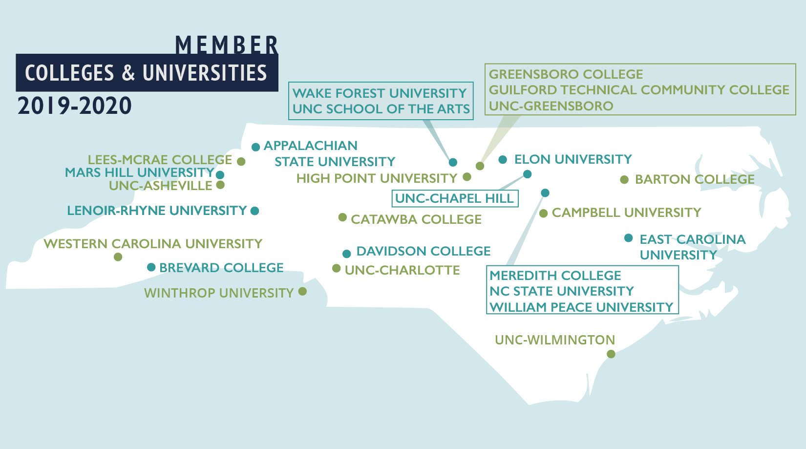 Colleges In Nc >> Colleges Universities North Carolina Theatre Conference